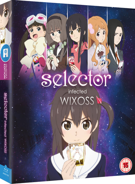 Selector Infected WIXOSS - Blu-ray Ltd Collector's Edition