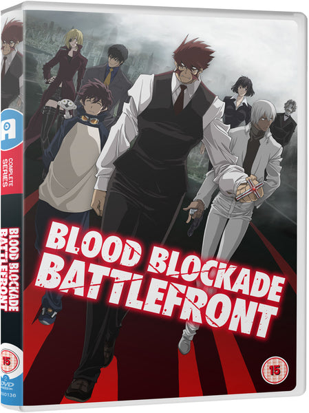 Blood Blockade Battlefront - DVD