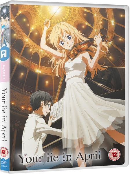 Your Lie In April - Part 2 DVD