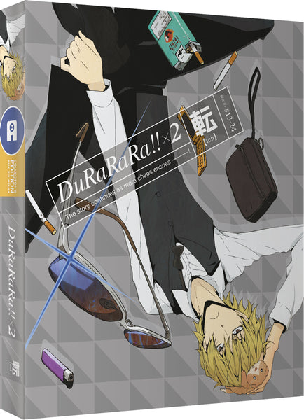 Durarara!! x2 (Part 2: Ten) Blu-ray Ltd Collector's Edition