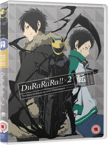 Durarara!! x2 (Part 2: Ten) DVD