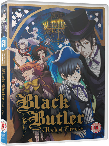 Black Butler: Book of Circus - DVD