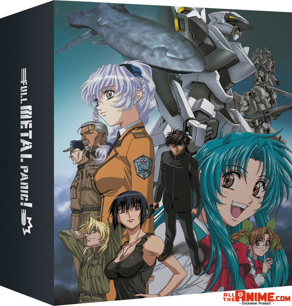 *AllTheAnime.com Exclusive* Full Metal Panic Seasons 1-3 Blu-ray Collection