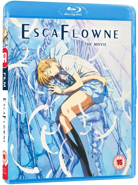 12 Days of Christmas 2017 - Day #11: Escaflowne The Movie Blu-ray