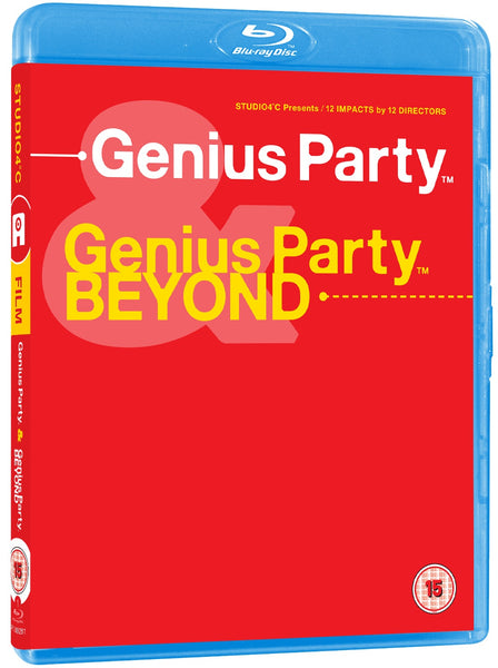 Genius Party / Genius Party Beyond - Blu-Ray