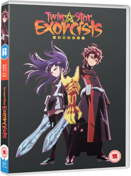 Twin Star Exorcists: Part 1 - DVD