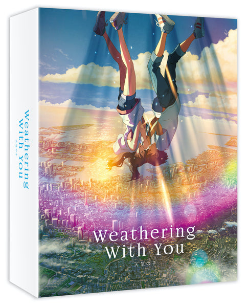 Weathering With You - 4K UHD+Blu-ray Deluxe Edition Variant Ver. (AllTheAnime.com Exclusive)
