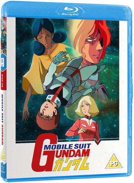 Mobile Suit Gundam Part 2 of 2 Blu-ray (with Limited Edition Art Book)