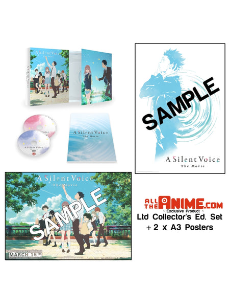 A Silent Voice Bundle *AllTheAnime.com Exclusive*