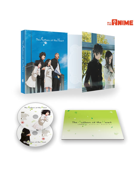 Anthem of the Heart - Blu-ray/DVD Ltd Collector's Edition