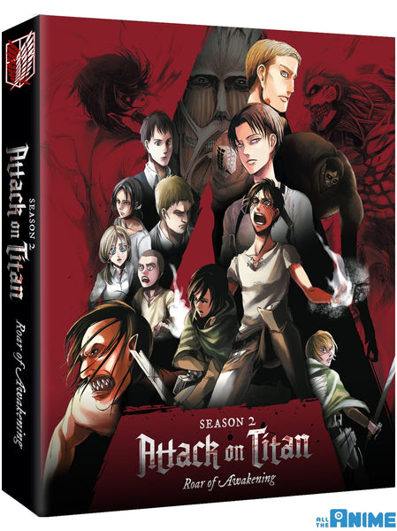 Attack on Titan: Roar of Awakening Blu-ray/DVD Collector's Edition
