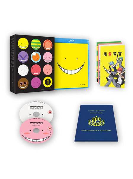 Assassination Classroom S1 Part 1 - Blu-ray Collector's Edition