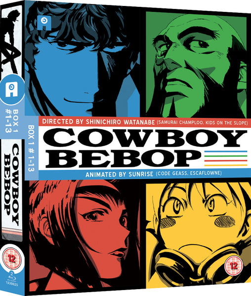 Cowboy Bebop: Part 1 - Blu-ray Ltd Collector's Edition