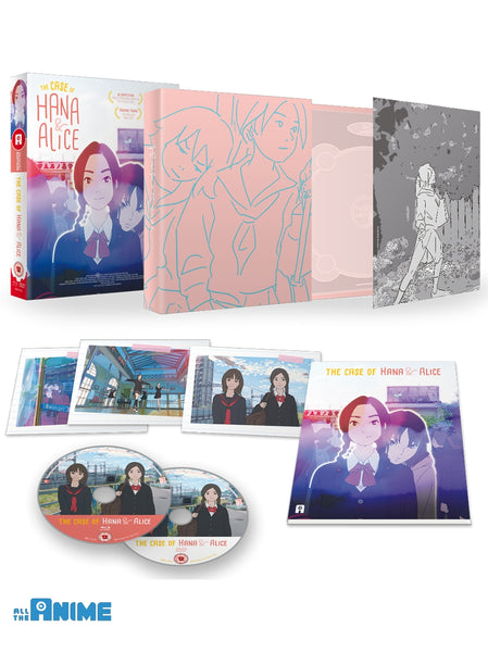 Case of Hana & Alice - Blu-ray/DVD Collector's Edition