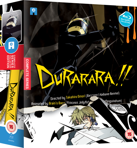 Durarara!! - Blu-ray Ltd Collector's Edition