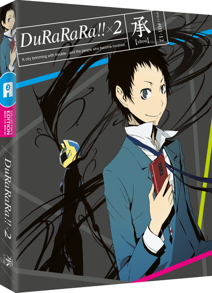 Durarara!! x2 - The First Arc: Shou, Blu-ray Limited Collector's Edition