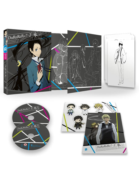 Durarara!! x2 (Part 1: Shou) Blu-ray Collector's Edition
