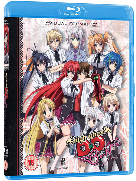 High School DxD BorN - Blu-ray/DVD combi