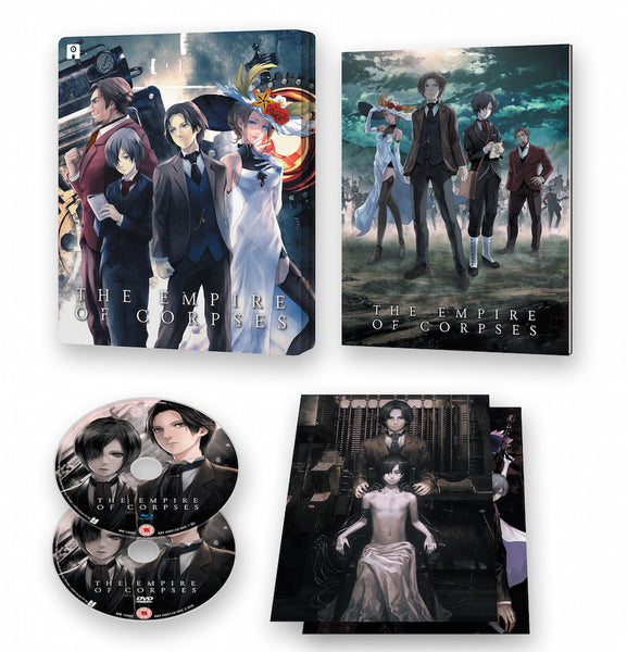 Project Itoh: The Empire of Corpses - Blu-ray/DVD Ltd Ed Steel Box