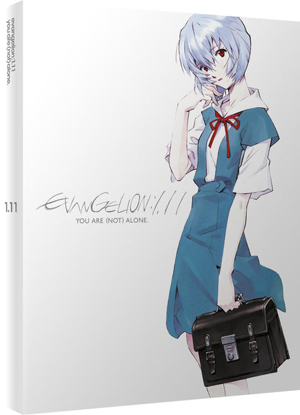 Evangelion 1.11: You Are (Not) Alone - Blu-ray/DVD Ltd Collector's Edition