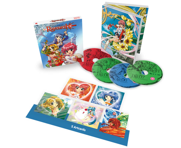 Magic Knight Rayearth: Part 2 - Blu-ray Collector's Edition