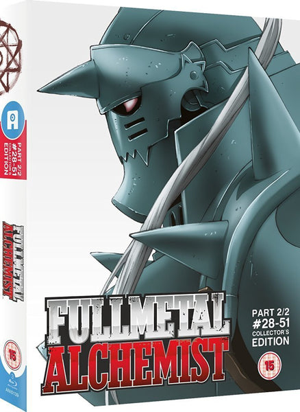 Fullmetal Alchemist - Part 2 Blu-ray Ltd Collector's Edition