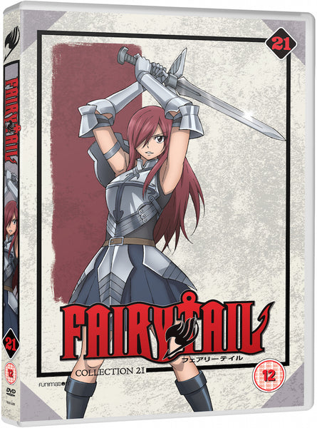 Fairy Tail: Part 21 - DVD