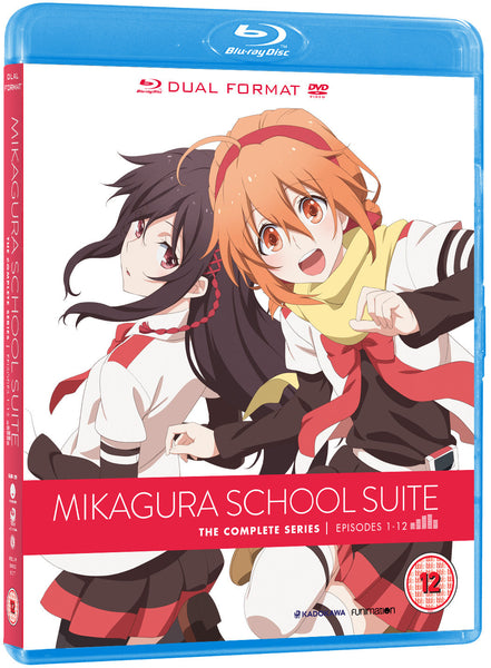 Mikagura School Suite - Blu-ray/DVD combi