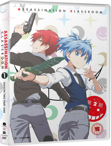Assassination Classroom: S2 Part 1 - DVD