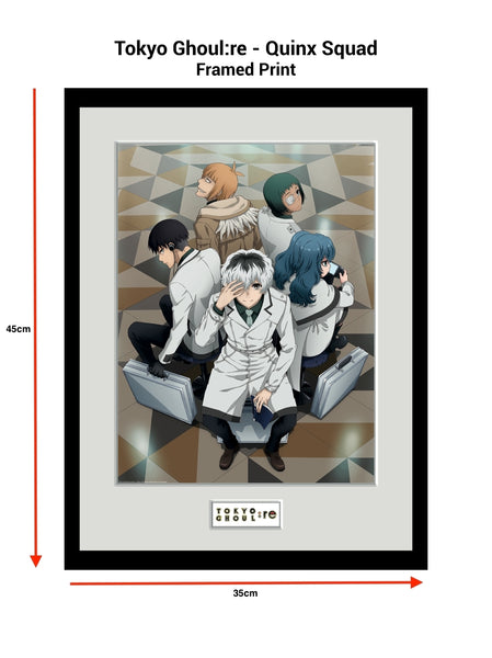 Framed Print: Tokyo Ghoul:re - Quinx Squad