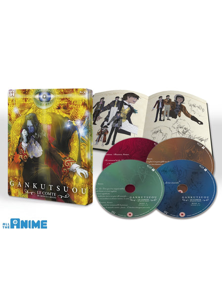 Gankutsuou: The Count of Monte Cristo - Blu-ray Collector's Edition