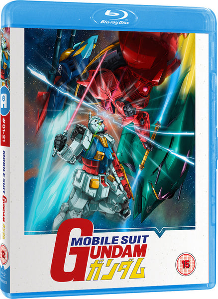 Mobile Suit Gundam - Part 1 of 2 Blu-ray (with Limited Ed. Collector's Box)