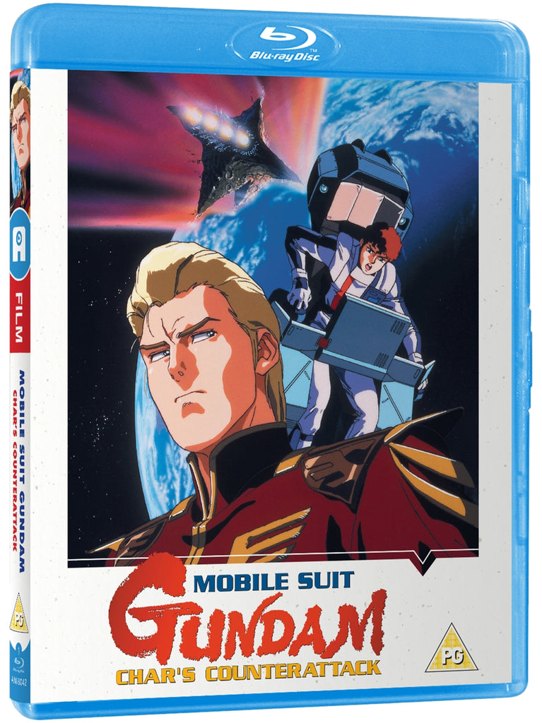 Mobile Suit Gundam Char S Counter Attack Blu Ray Alltheanime