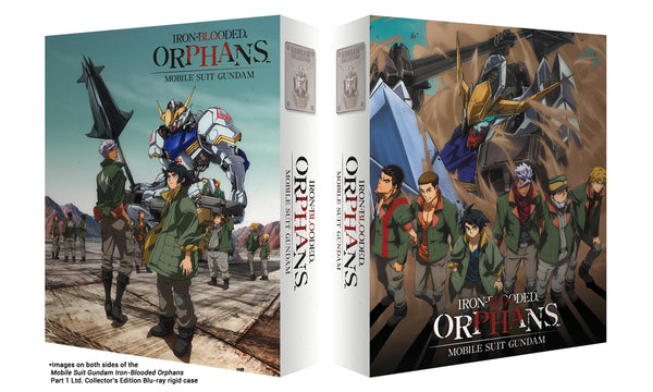 Mobile Suit Gundam Iron-Blooded Orphans: Part 1 Blu-ray Collector's Edition