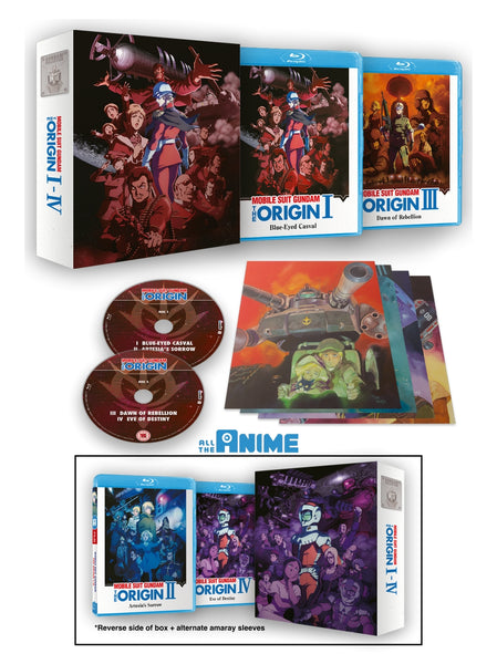 Gundam The Origin I- IV - Blu-ray