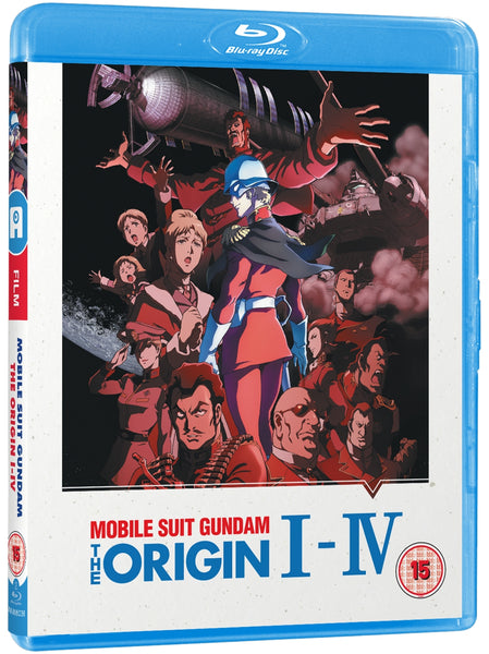 Mobile Suit Gundam The Origin: I-IV - Blu-ray