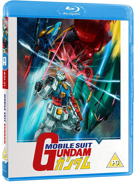 Mobile Suit Gundam Part 1 of 2 - Blu-ray