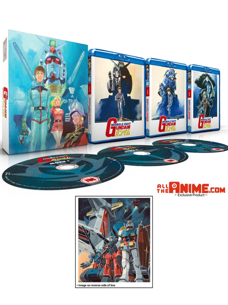 Mobile Suit Gundam Movie Trilogy - Blu-ray