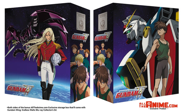 Gundam Wing: Endless Waltz - Blu-ray Collector's Ed. w/ Bonus AllTheAnime.com Exclusive Box