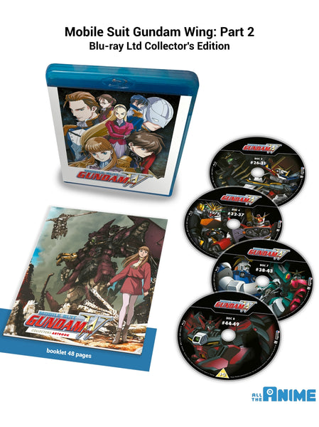 Mobile Suit Gundam Wing: Part 2 - Blu-ray Collector's Edition
