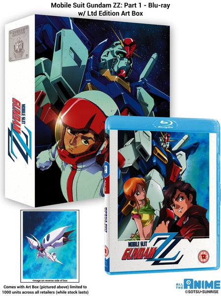 Mobile Suit Gundam ZZ: Part 1 - Blu-ray (w/ Ltd Edition Box)