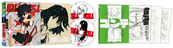 Kill la Kill Part 1 of 3 - Blu-Ray Collector's Edition