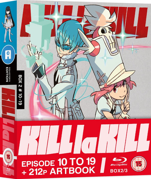 Kill la Kill: Part 2 - Blu-ray Collector's Edition