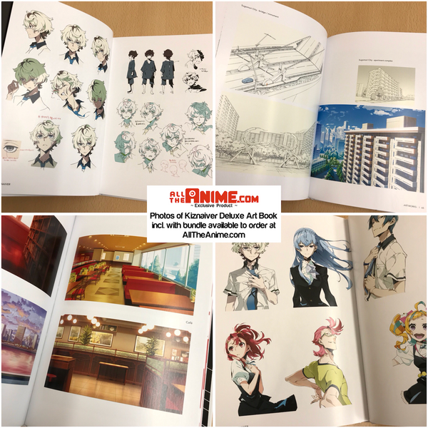 Kiznaiver - Blu-ray Collector's Edition + Deluxe Art Book