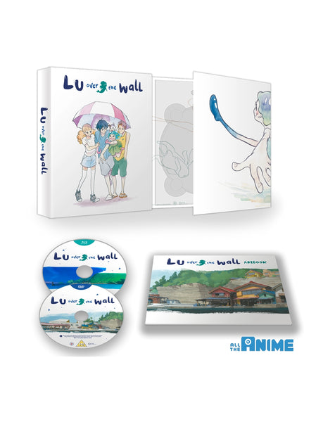 Lu Over the Wall - Blu-ray+DVD Ltd Collector's Ed.