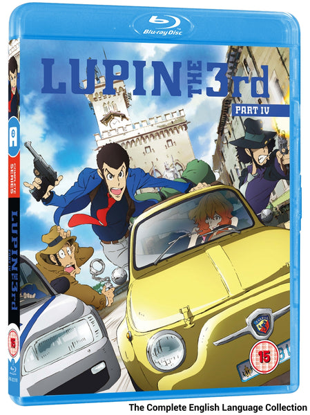 Lupin the Third: Part IV - Blu-ray English Language Collection