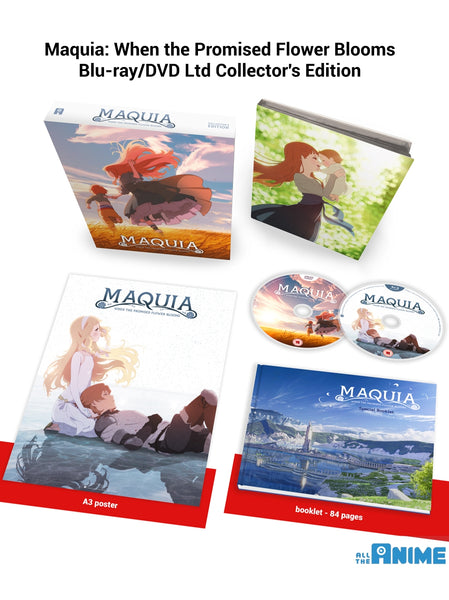 Maquia - Blu-ray/DVD Collector's Edition