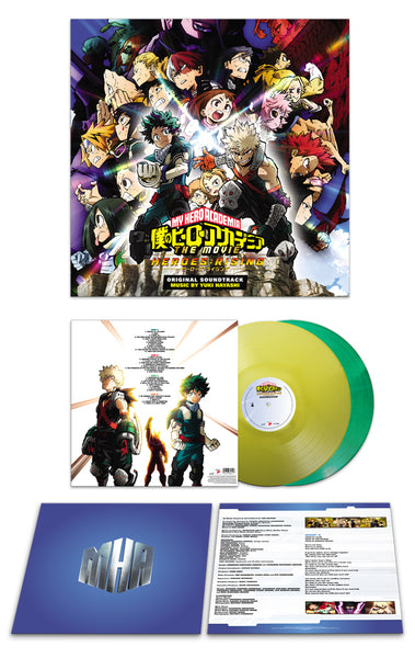 My Hero Academia: Heroes Rising - Soundtrack Vinyl