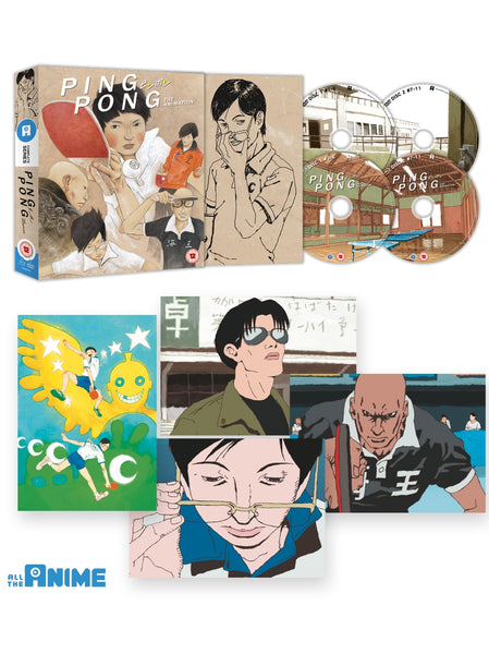 Ping Pong The Animation - Blu-ray/DVD Collector's Edition