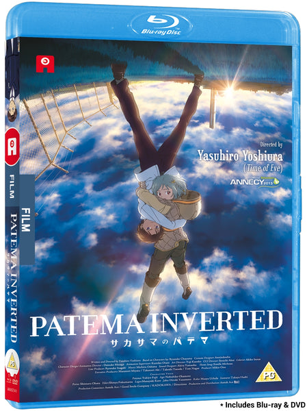 Patema Inverted - Blu-ray/DVD